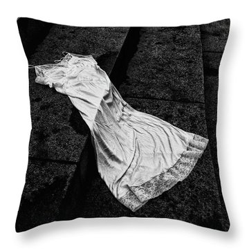 Silk And Stone Throw Pillow