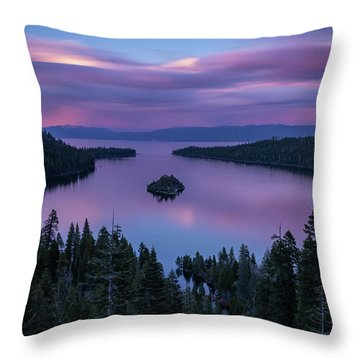 Silk By Mike Breshears Throw Pillow