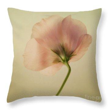 Silk Throw Pillow by Priska Wettstein