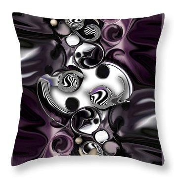 Silmulacrum Vs Dimensionality  Throw Pillow
