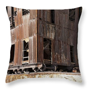Silo City 7 Throw Pillow
