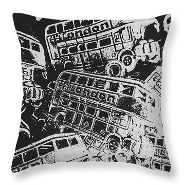 Mural Throw Pillows