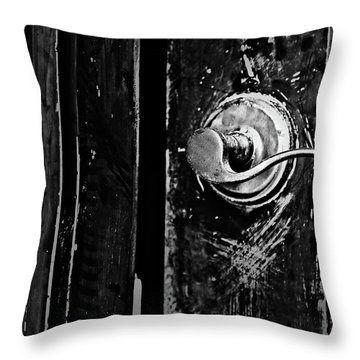 Silver Handle Throw Pillow