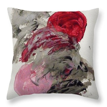 Silver Wave With Beach Toys Throw Pillow