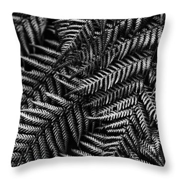 Silvern Throw Pillow by Andrew Paranavitana