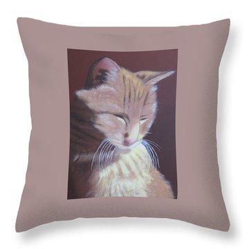 Simba, Best Cat. Throw Pillow