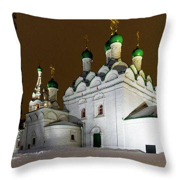 Simeon Stylites Church Throw Pillow