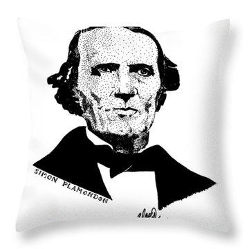 Simon Plamondon Throw Pillow