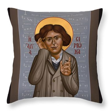 Simone Weil - Rlsiw Throw Pillow