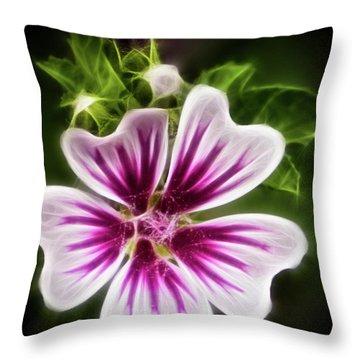 Simple Beauty Throw Pillow by Joann Copeland-Paul