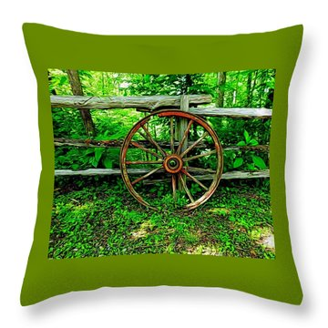 Simple Days Throw Pillow