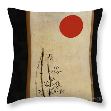 Throw Pillow featuring the digital art Simple Destiny by Nola Lee Kelsey