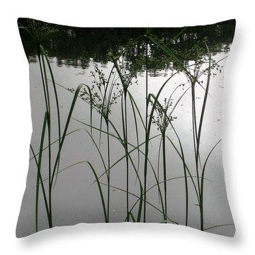 Simple Grass Throw Pillow