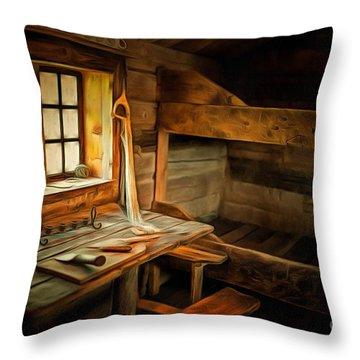 Simple Life Throw Pillow