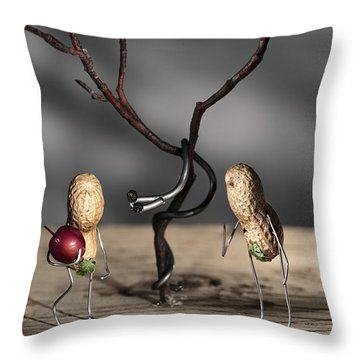 Simple Things - Paradise Throw Pillow