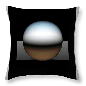 Simplicity 25 Throw Pillow by John Krakora