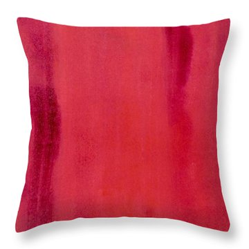 Simplicity Throw Pillow by Irene Hurdle