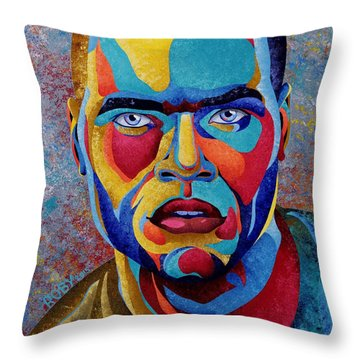 Simply Complex Throw Pillow