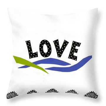 Simply Love Throw Pillow