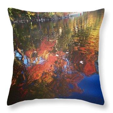 Simply Sensations Seasonal Swirls Throw Pillow