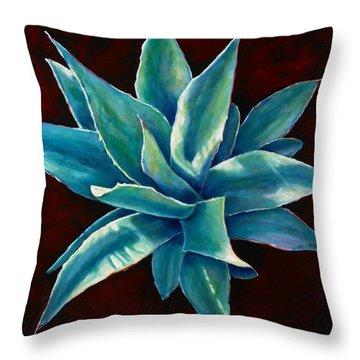 Simply Succulent Throw Pillow