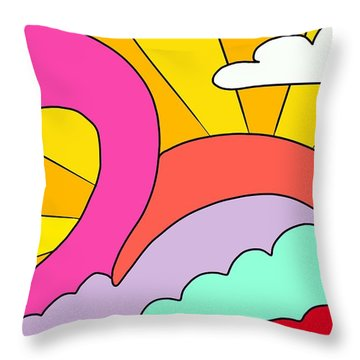 Simply Swan-sational Throw Pillow