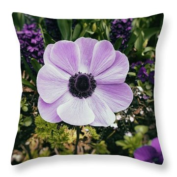 Simply Sweet Throw Pillow by Karen Stahlros