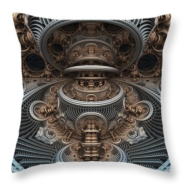 Simply Symmetrical Throw Pillow