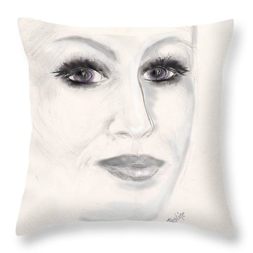 Simply Woman Throw Pillow
