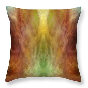 Simultaneous Climax Throw Pillow