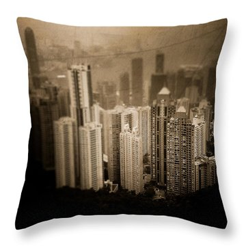 Sin City Throw Pillow by Loriental Photography