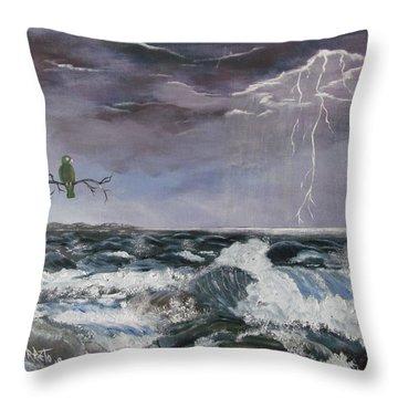 Sin Temor Throw Pillow