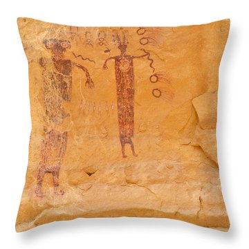 Sinbad Pictograph  Throw Pillow