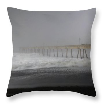 Throw Pillow featuring the photograph Since You Left  by Laurie Search
