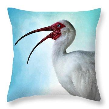 Sing, Sing A Song... Throw Pillow