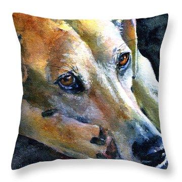 Singa Throw Pillow by John D Benson