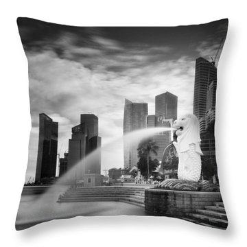 Harbours Throw Pillows