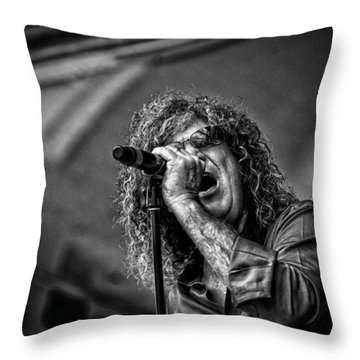 Singer Stormbringer Throw Pillow