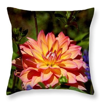 Singing A Song Throw Pillow