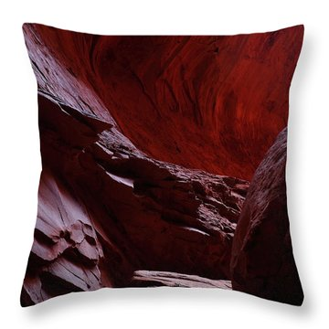 Singing Canyon At Grand Staircase Escalante National Monument In Utah Throw Pillow