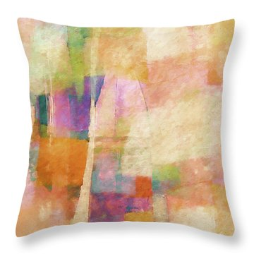 Singing Light Throw Pillow
