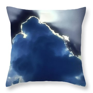 Singing Out Throw Pillow
