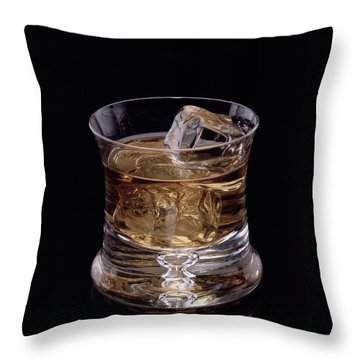 Single Malt Throw Pillow by Steven Huszar