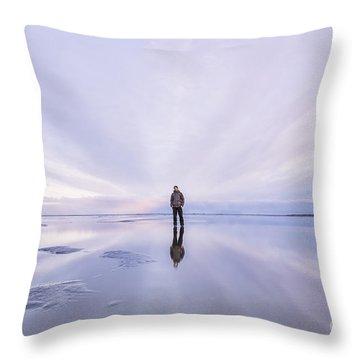 Singleness Throw Pillow
