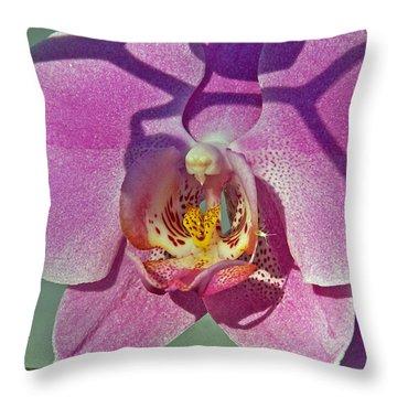 Throw Pillow featuring the photograph Singular Beauty by Lynda Lehmann