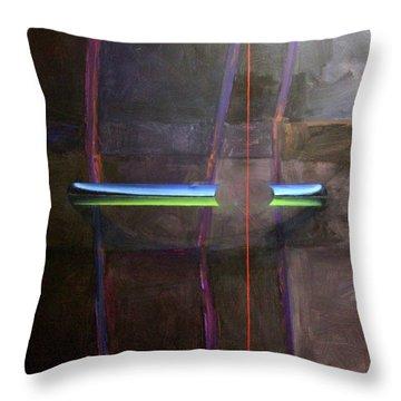 Singularity Alpha Throw Pillow