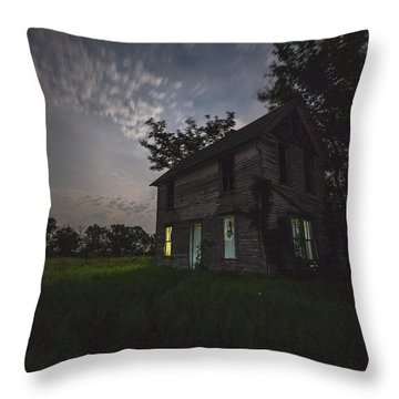 Sinister Ill Throw Pillow