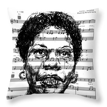 Sinnerman Throw Pillow