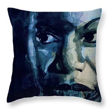 Sinnerman - Nina Simone Throw Pillow