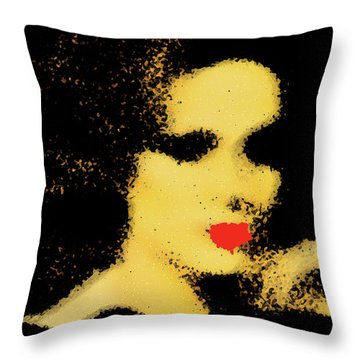 Sinthia Throw Pillow by Empty Wall